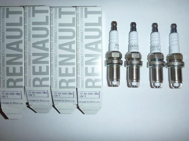 Свечи от Renault Logan