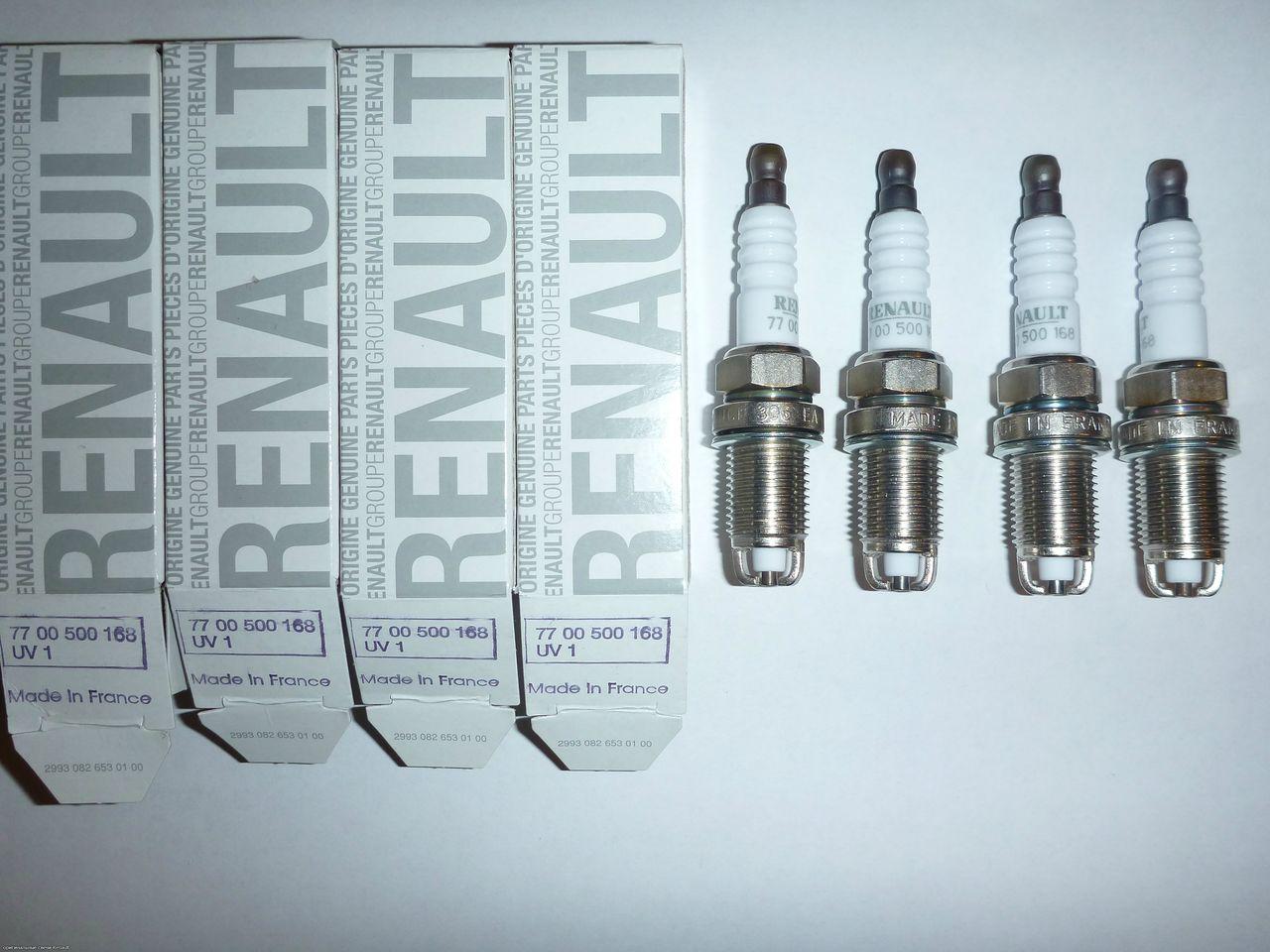 Замена свечей Renault Logan и советы по их выбору