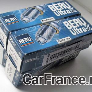 BERU UXF79 свечи для рено Логан 1.6