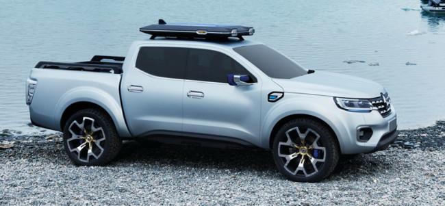 Внешний вид концепта Renault Alaskan