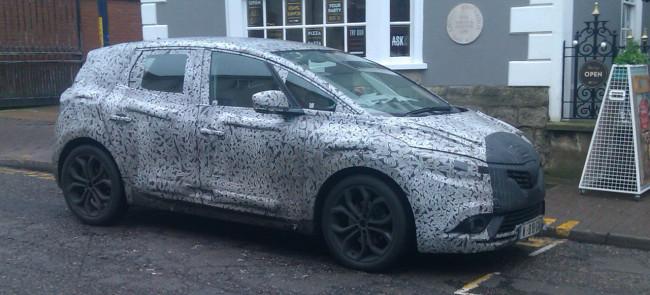 Renault Scenic II, модельный год «2017»