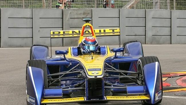 Renault Z.E 15, Formula E, декабрь 2015-го
