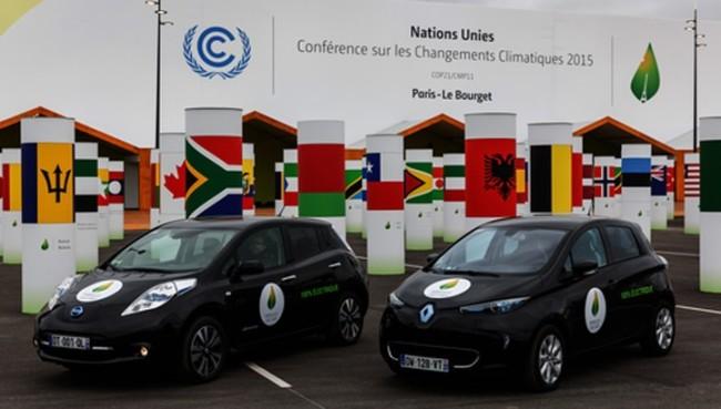 Первая экологическая конференция в Париже