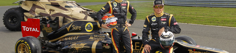 Формульный болид Lotus, 2012 год