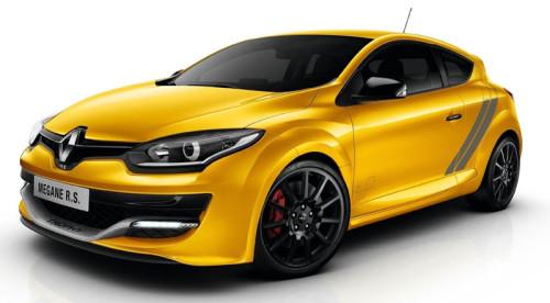 Внешний вид спортивного Renault Megane RS
