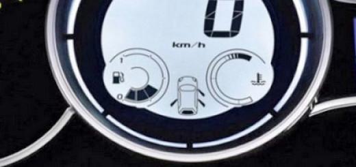 Панель приборов Рено Меган в последнем кузове