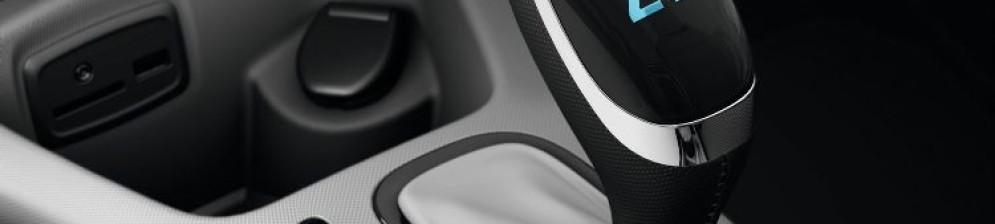 Renault ZOE, селектор коробки