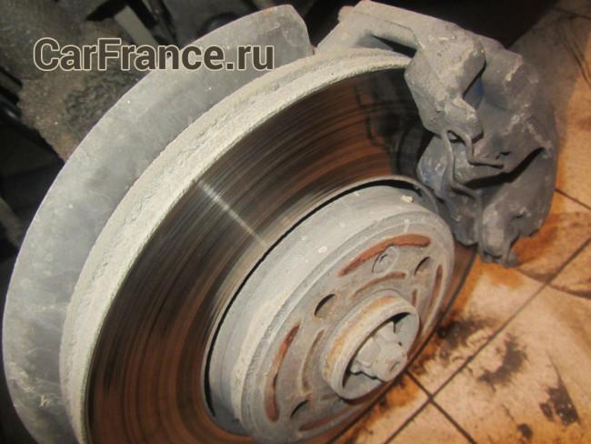 Внешний вид тормозного диска Рено Меган 2