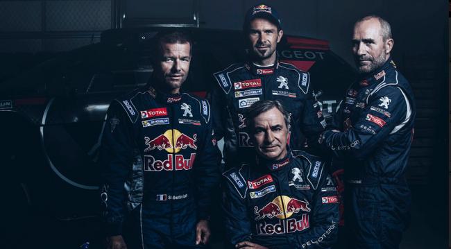 Команда Peugeot-Total, ралли «Дакар-2016»