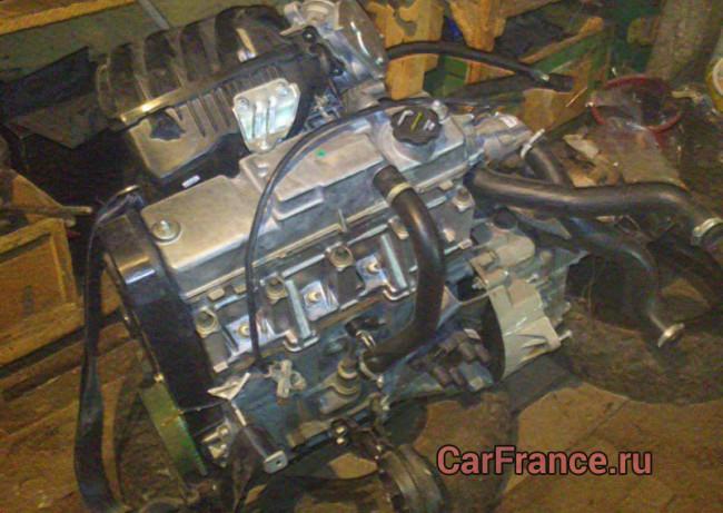 Двигатель Лада Гранта 11183 82 л.с. снятый с автомобиля