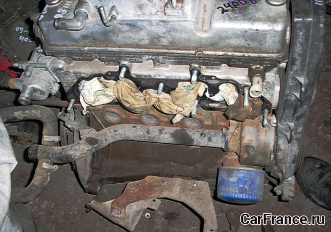 Двигатель 11186 (снятый с авто) Лада Гранта