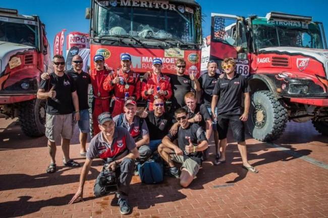 Команда Renault, ралли OiLibya, октябрь 2015-го
