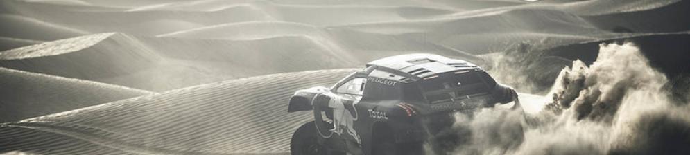 Тренировочные тесты «Дакар-2016», команда Peugeot
