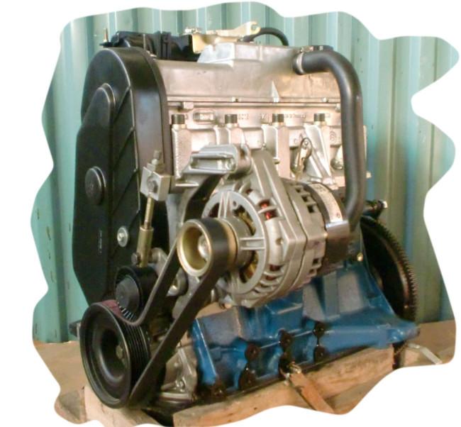 Двигатель Лада Гранта 21116 87 л.с. снятый с автомобиля