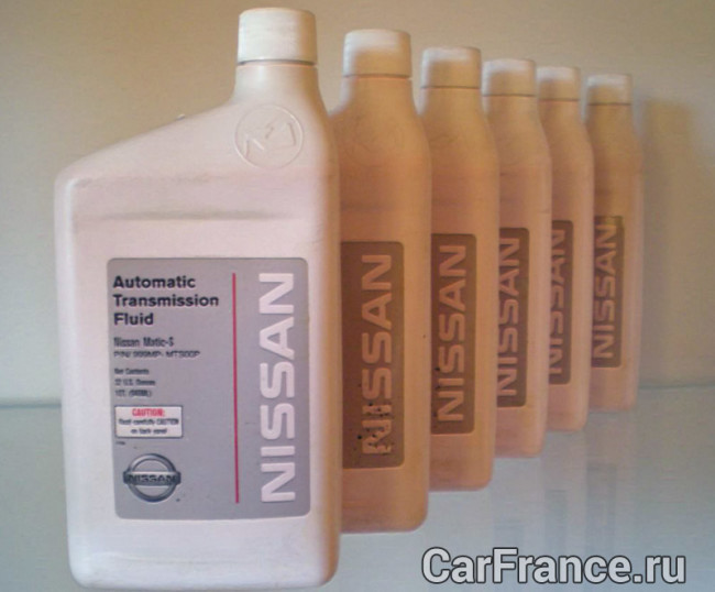 Масло NISSAN Matic Fluid S в АКПП Лада