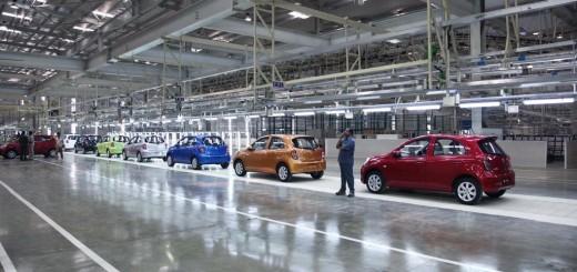 Завод Renault-Nissan, Индия
