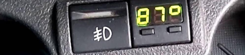 указатель температуры мотора электронный гранта
