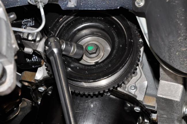 Настройка привода ГРМ, 8 клапанов, мотор Гранты