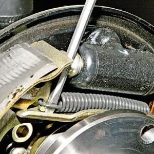 Тормозной барабан в Гранте