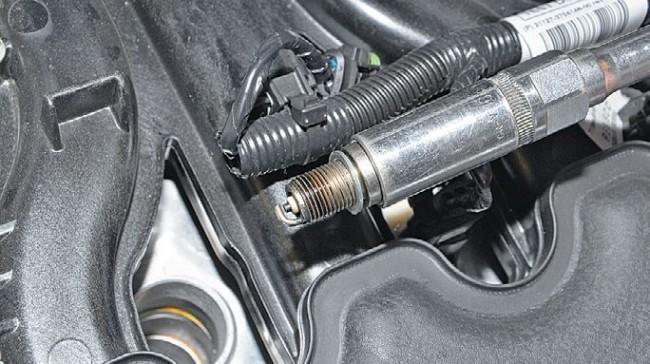 Двигатель 21127 без свечи