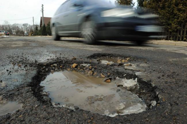 Плохие дороги Германии