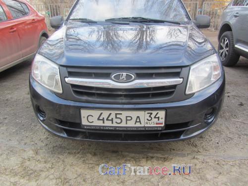 """Лада Гранта, 2012 года, комплектация  """"Норма"""", двигатель 21116. У нас две Гранты, эту чиним чаще - автомобиль редакции CarFrance.ru"""