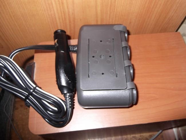 Разветвитель на 4-ре источника питания и 1 USB