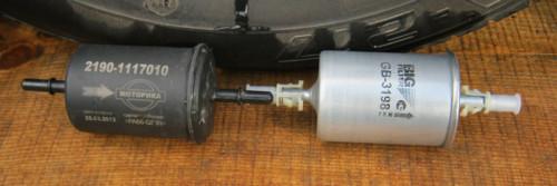 Лада гранта замена топливного фильтра тонкой очистки