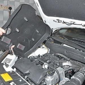 Пластиковая защита ДВС 21127