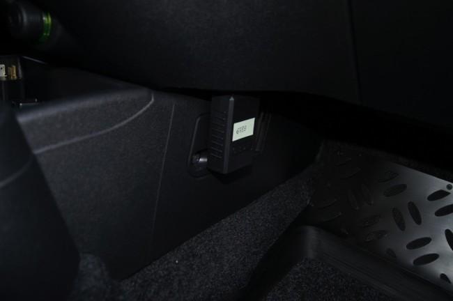 ELM327 подключен в диагностический разъём Лада Гранта