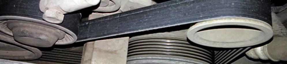 Ремень генератор под капотом Лада Гранта