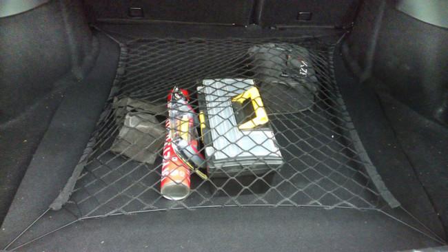 Сетка в багажник Лада Гранта 90*60 см