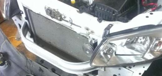 Кузов Лада Гранта без переднего бампера