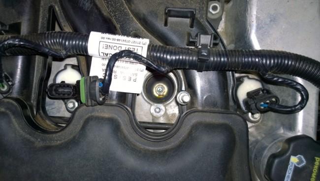Двигатель 21127 без катушек зажигания