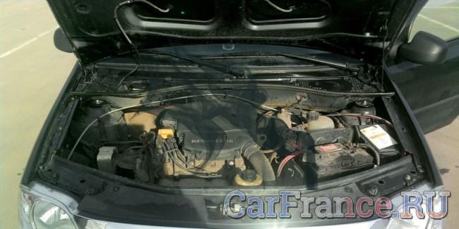 Двигатель Рено Логан 1.6 поломка из-за не верного топлива
