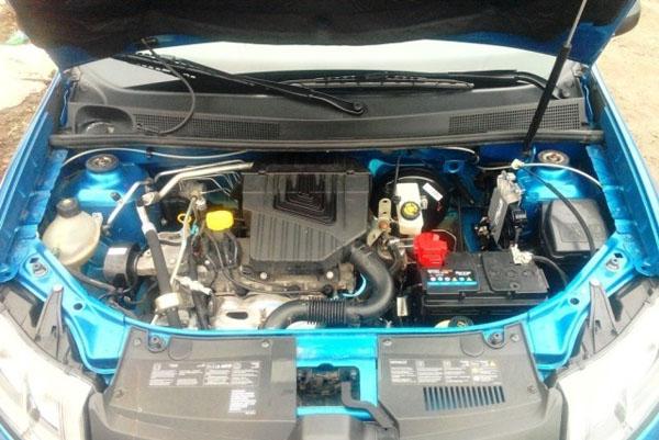 8-ми клапанный двигатель Рено Логан 2014 года выпуска фаза 2
