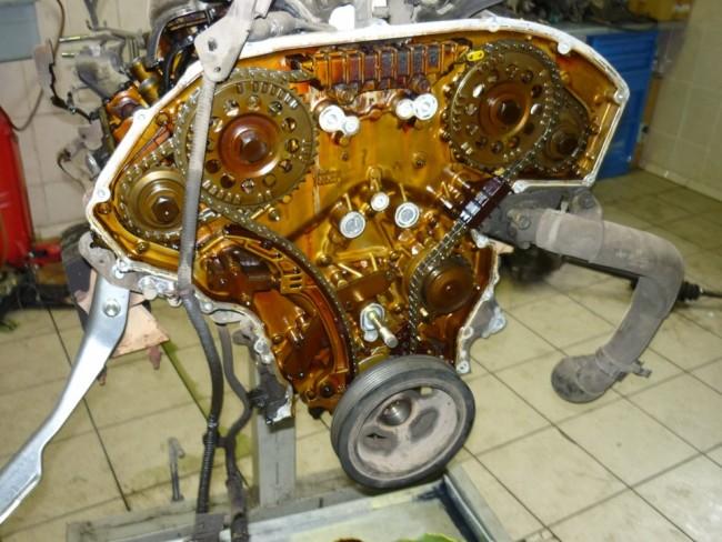 Цепь ГРМ HR16DE Nissan