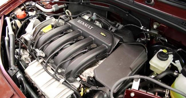 K4M двигатель на Рено Логан 16 клапанов