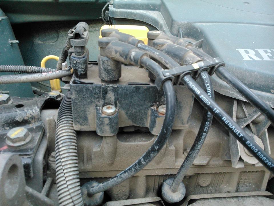 двигатель троит после прогрева ситроен 1.6