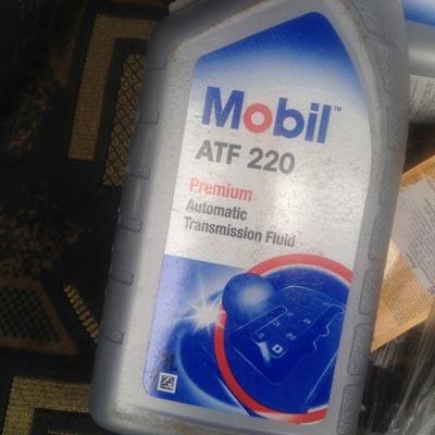 Масло в гидроусилитель (не оригинал) Mobil ATF 220 Рено Логан