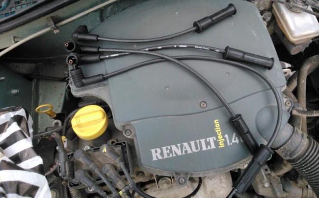 Новые высоковольтные провода на Рено Логан с двигателем 1.4