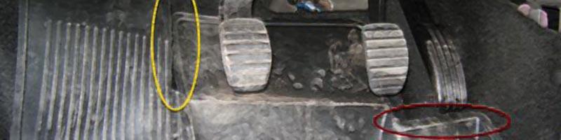 renault symbol западает педаль газа