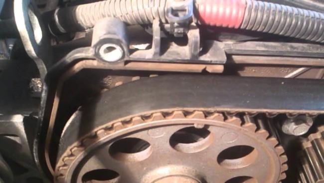ГРМ мотора 21127, ремень