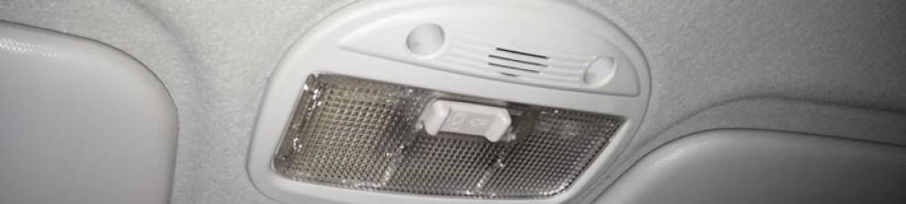 Не горит потолочный светильник в результате плохой работы концевика дверей Лада Гранта