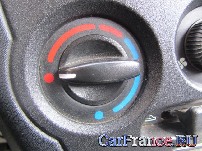 Регулятор температуры выдуваемого воздуха