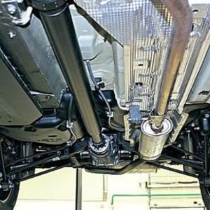 Дастер 4WD, под днищем