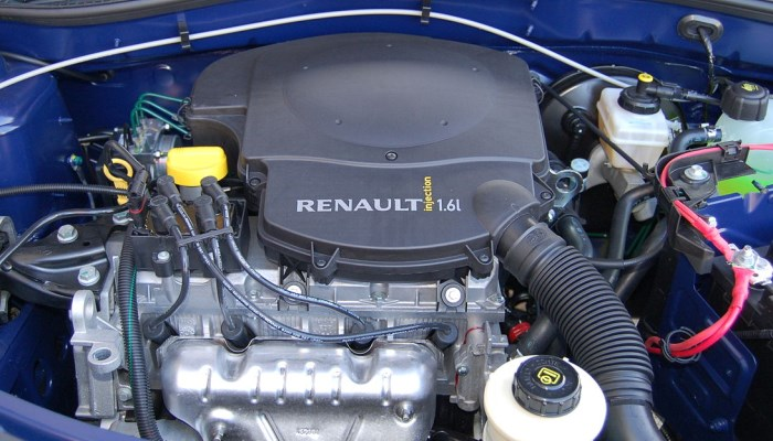 какое масло в двигателе renault symbol