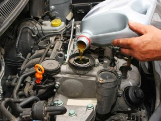 Замена масла, мотор Логан, 8 клапанов