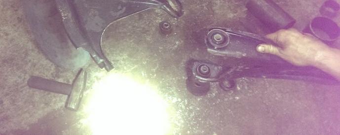 Сайлентблок подвески рено логан