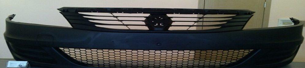 Решетка радиатора Рено Логан